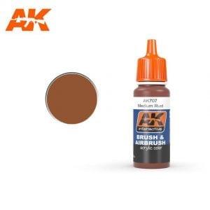 AK707 Medium Rust AK-Interactive