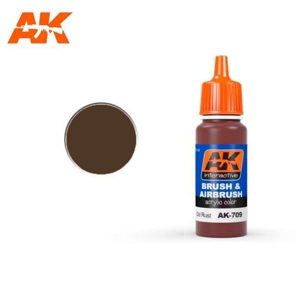 AK709 Old Rust AK-Interactive