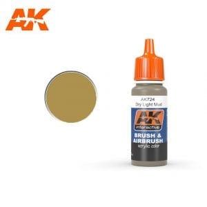 AK724 Dry Light Mud AK-Interactive