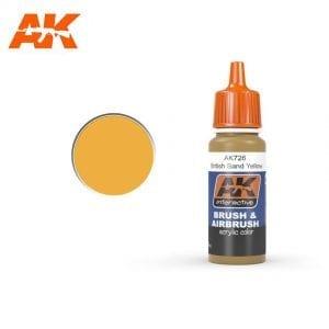 AK726 acrylic paint afv akinteractive modeling