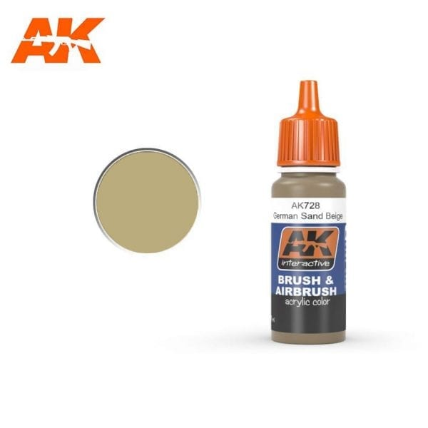 AK728 acrylic paint afv akinteractive modeling