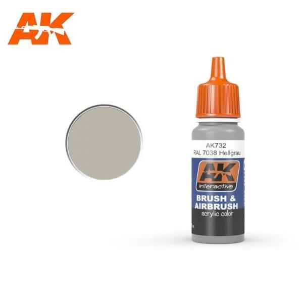 AK732 acrylic paint afv akinteractive modeling