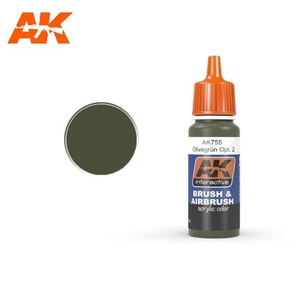 AK755 acrylic paint afv akinteractive modeling