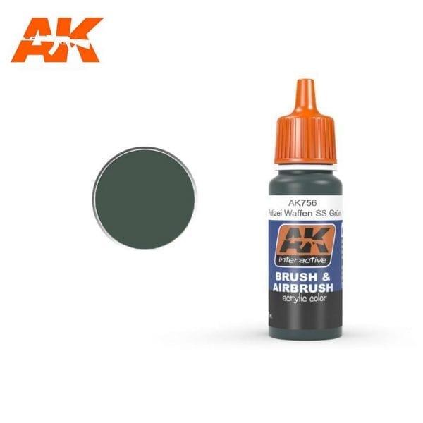 AK756 acrylic paint afv akinteractive modeling