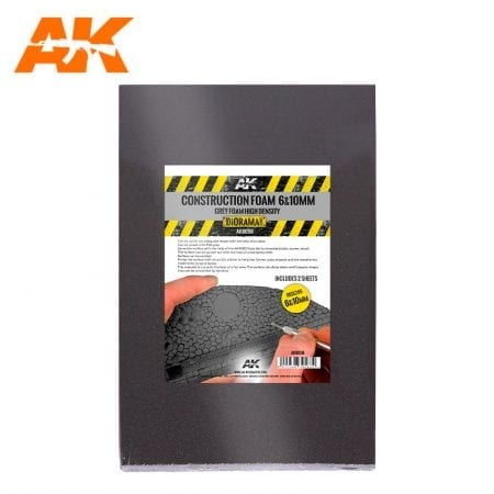 AK8098 Construction Foam 6 and 10mm