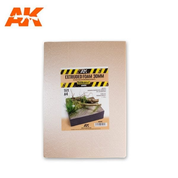 AK8099 Extruded foam 30mm A4