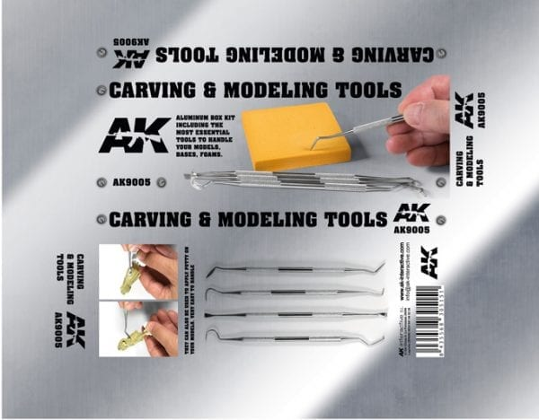 AK9005 Carving tools akinteractive