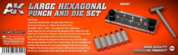 AK9057-RP-TOOLS-LARGE-HEXAGONAL-PUNCH-AND-DIE-SET