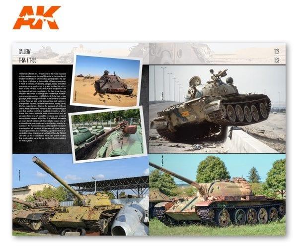 AK 914 MINIART Modeling T-55 (152-153)
