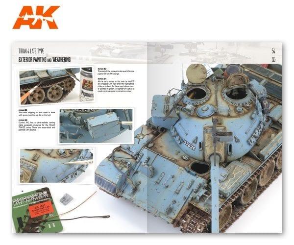 AK 914 MINIART Modeling T-55 (54-55)