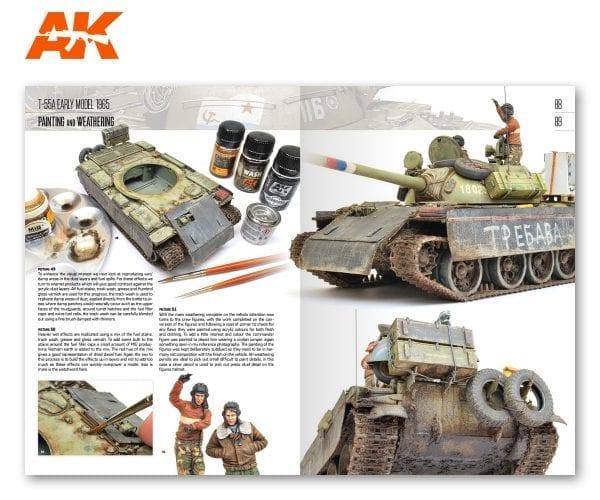 AK 914 MINIART Modeling T-55 (88-89)