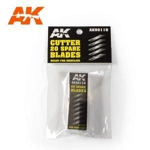 AK Interactive Cutter spare blades AK9011B