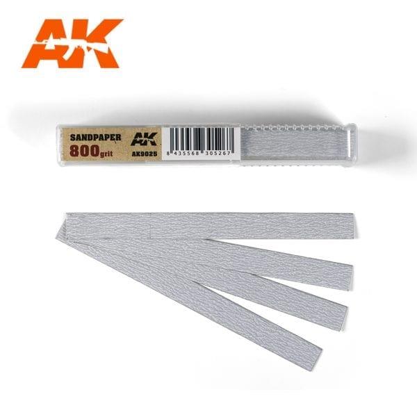 AK Interactive Sandpaper strips AK9025