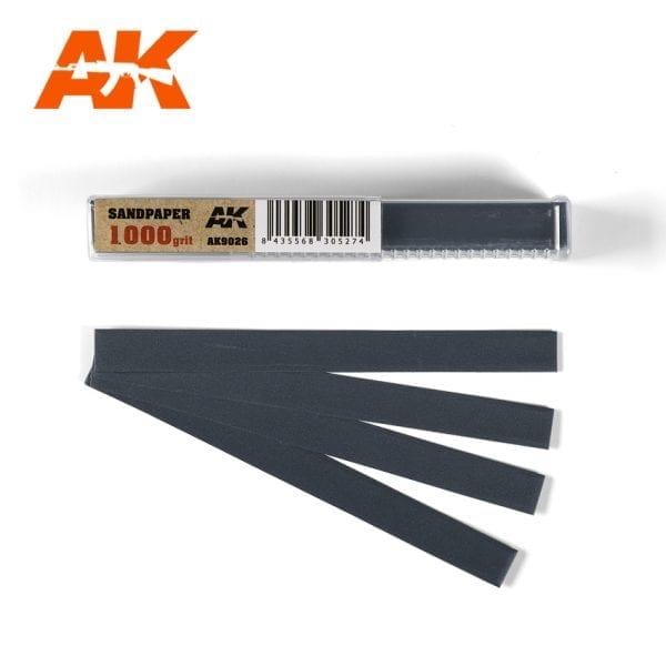 AK Interactive Sandpaper strips AK9026