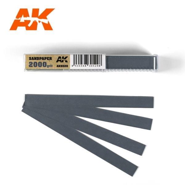 AK Interactive Sandpaper strips AK9028