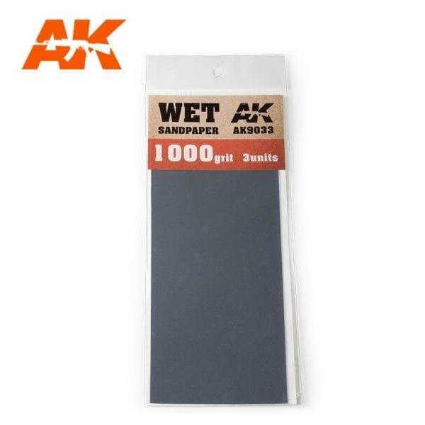 AK Interactive Sandpaper WET AK9033