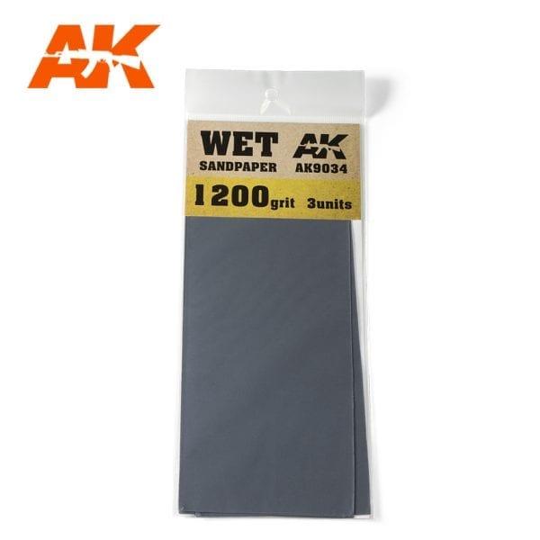 AK Interactive Sandpaper WET AK9034