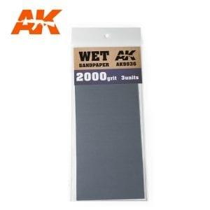 AK Interactive Sandpaper WET AK9036