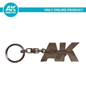 AK KEYCHAIN METALLIC AK907C