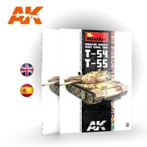 AK914 MINIART Modeling T-55