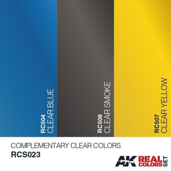 RCS023acryliclacquerset