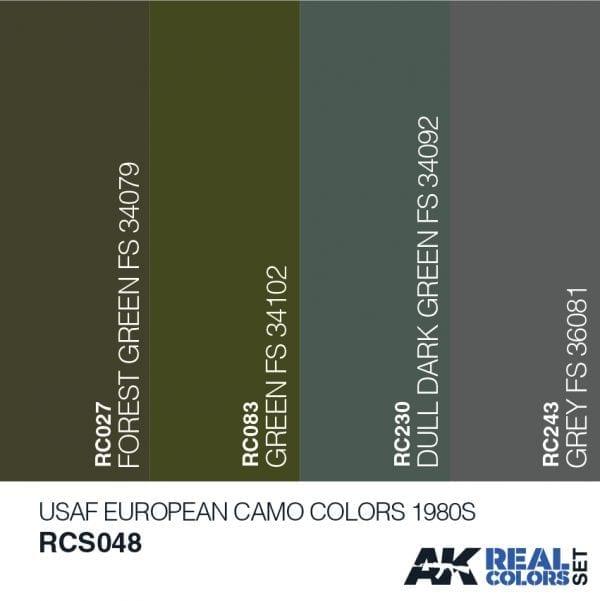 RCS048acryliclacquerset