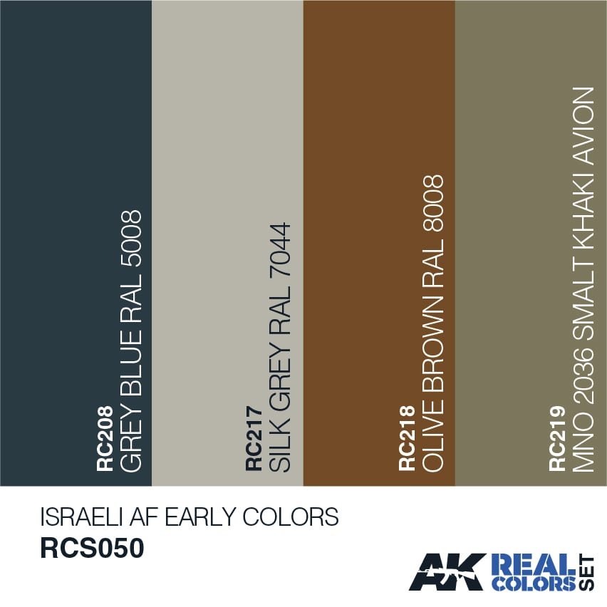 Ral Graublau: Israeli AF Early Colors - AK Interactive