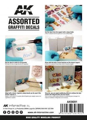 AK9091 Assorted_Graffiti_Decals
