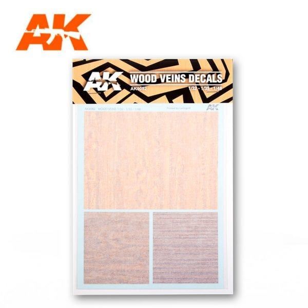 Wood Veins Decal AK9082
