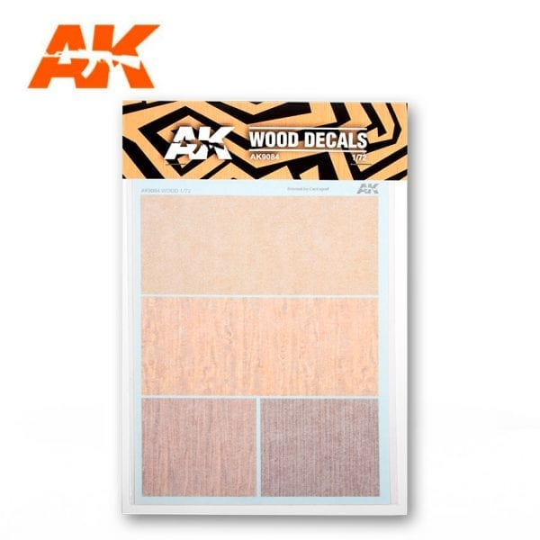 Wood Decals Set AK9084