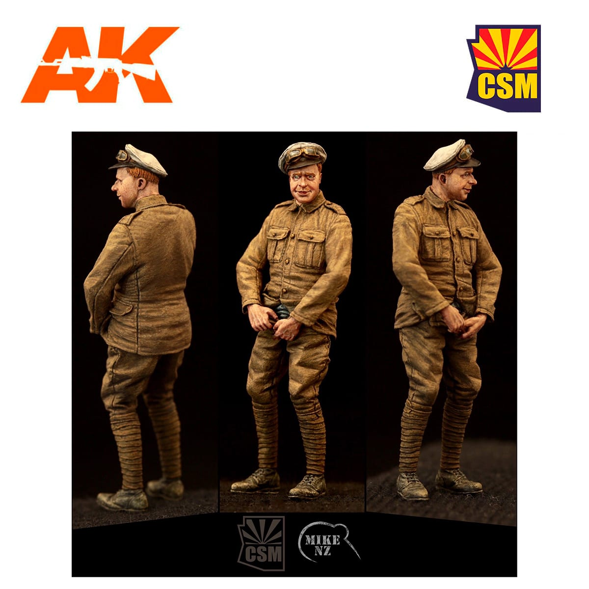 1:35 Copper State Models #F35-009 British RNAS  Petty Officer Relief