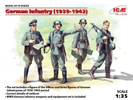 German Infantry (1939-1942) (4 figures) _detail (1)