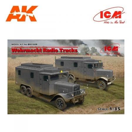 Wehrmacht Radio Trucks (Henschel 33D1 Kfz.72, Krupp L3H163 Kfz.72)
