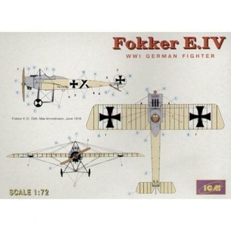 icm-icm72111-fokker-e-iv-monoplane