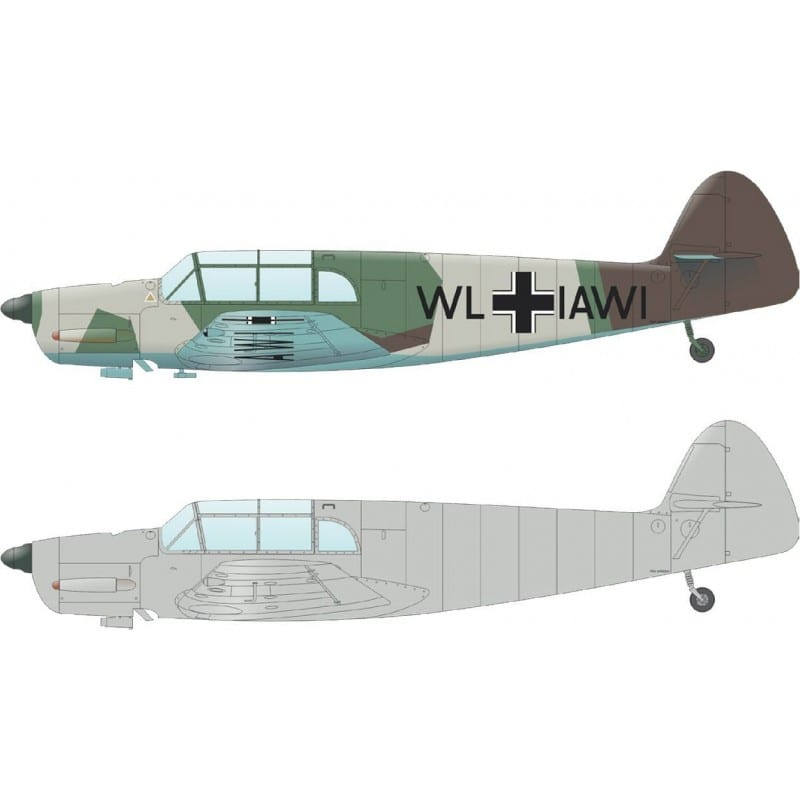 EDUARD 3404 Messerschmitt Bf108 in 1:32