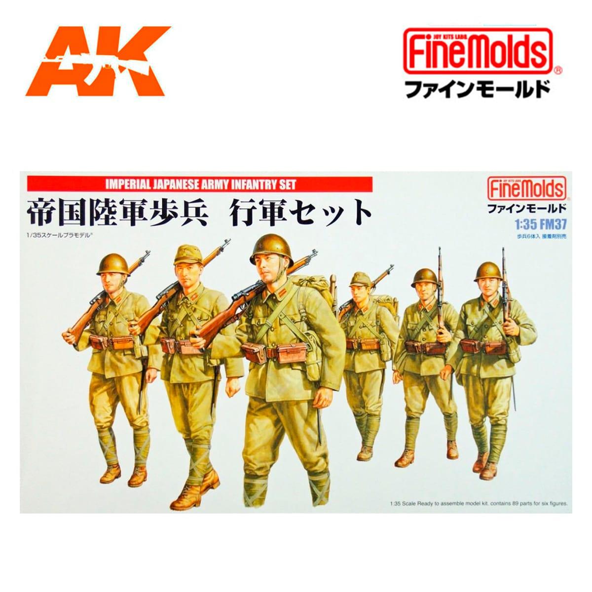 Fine Molds FM37-1//35 Imperial Japanese Army Infantry Set Neu
