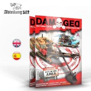 ABT736 damaged magazine issue 10 akinteractive