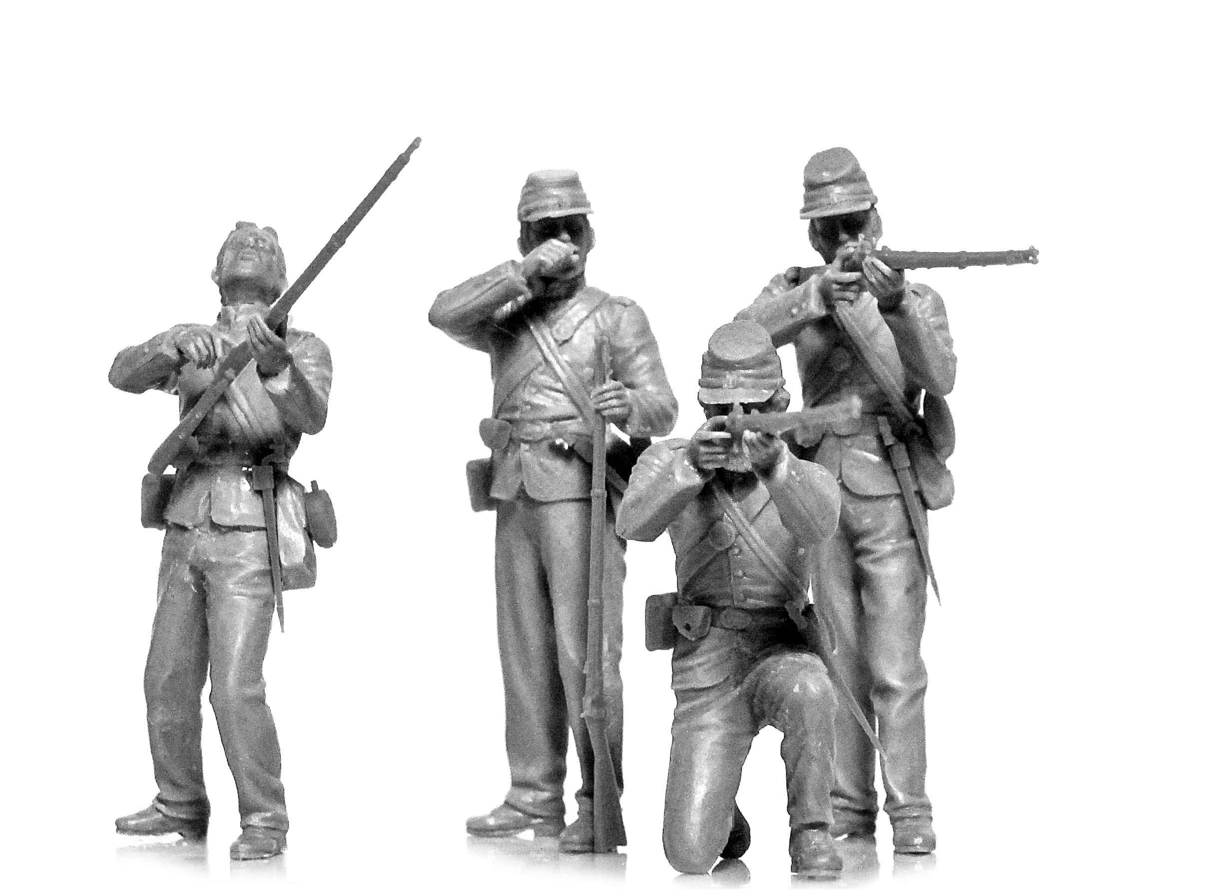 35020 ICM American Civil War Union Infantry 1:35