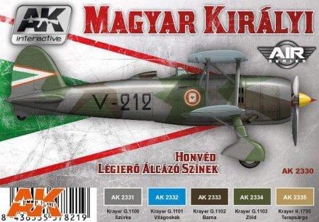AK2330 Hungarian Color set
