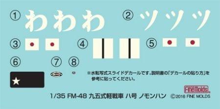 FM48デカール