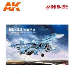 MBASE-8001 minibase akinteractive sukoi russian aircraft 1/48