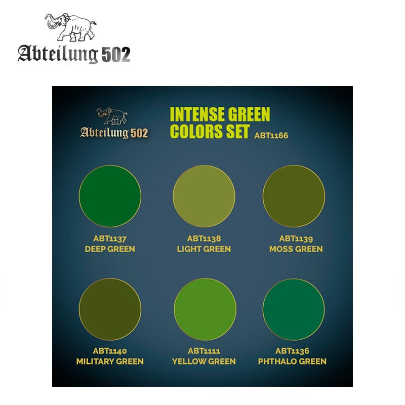 GAME STATE Singapore ABT1166 – INTENSE GREEN COLORS SET