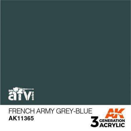 AK11365 FRENCH ARMY GREY-BLUE