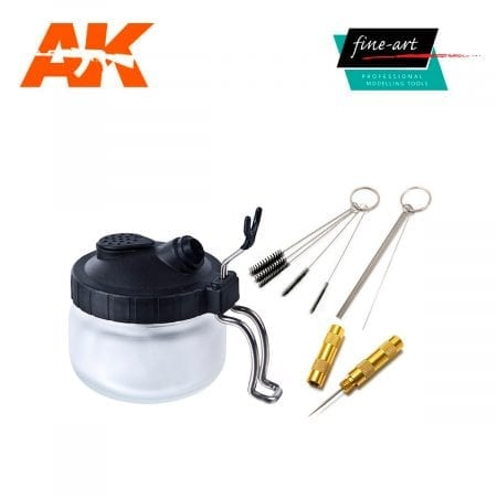 FA 614 Airbrush Cleaning Station set