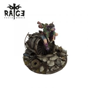 rage002 CRASH LANDING rage resin models akinteractive