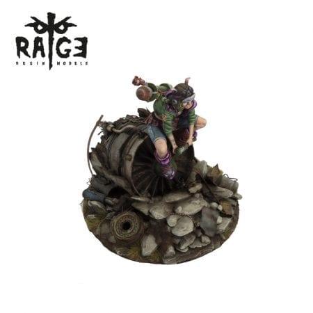 rage002 CRASH LANDING rage resin models akinteractive
