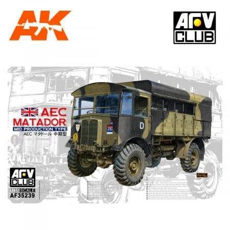 AFV AF35239 AEC MATADOR MID PRODUCTION TYPE 1/35