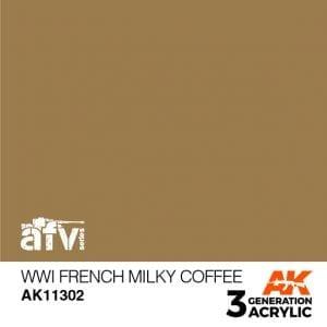 AK11302 WWI FRENCH MILKY COFFEE