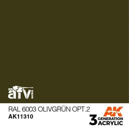 AK11310 RAL 6003 OLIVGRÜN OPT.2