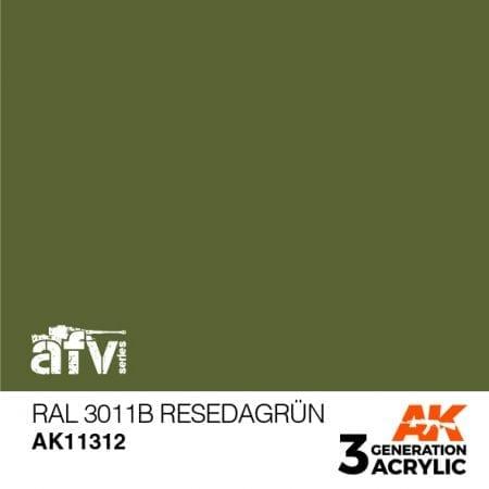 AK11312 RAL 6011B RESEDAGRÜN